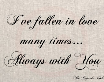 ... Vintage Download DIY Scrapbook Shabby Chic Pillow Love Quote Wedding