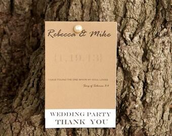Personalized Wedding Programs