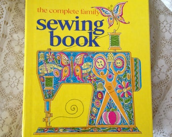 Sewing Book Instructional Sewing Book