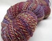 SALE - Handspun Handdyed Merino/SW Merino/Silk Yarn - 315 yards