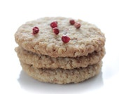 Rosemary Pink Peppercorn Biscuits