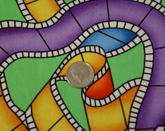 """2 5/8 Yards  44"""" Wide Bright Cotton Fabric"""