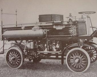Fire Engines - original - 1911 encyclopedia page