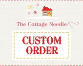 special custom order for heather : counted cross stitch pattern diy