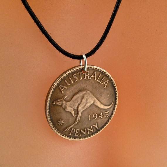 Coin Necklace Jewelry Australia Australian Penny Coin