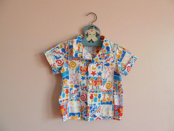 Baby Hawaiian Shirt