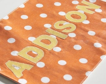 Vinyl Covering - To Be Added to any Kids Placemats to make them Wipe Off Clean