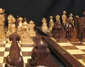 "Special Listing for BA  ""Custom Firefighter Chess Sets"""