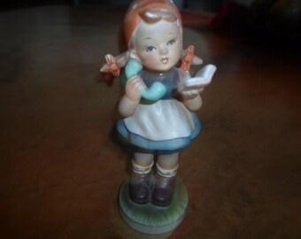 Vintage Porcelain Figurine Just Kids