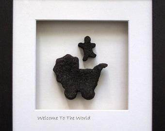 Welcome to the World - New Baby Gift - Hand Made in Ireland from Real Irish Turf