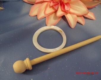 Bone and wood wrap closure