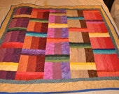 Multi colored Baby Quilt