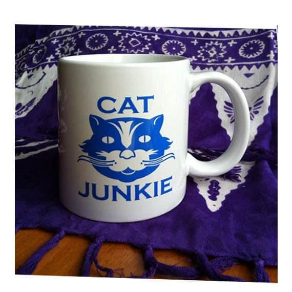 Cat Junkie Coffee Mug