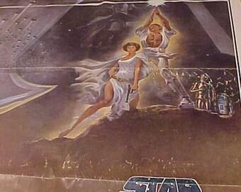 Star Wars Original  1sh Style A 77 21  1977 27x41 vintage  Movie Poster one sheet