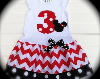 Girls Custom Dress Red Chevron Dress Girls Dress Birthday Dress Girls Clothing Kids baby Toddlers 6 12 18 24 Months Girls 2 3 4 5 6 8