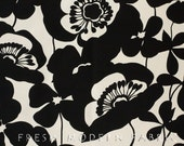 Half Yard Sofia in Tea and Black, Home Decorator Weight Fabric, Alexander Henry, 100% Cotton Fabric