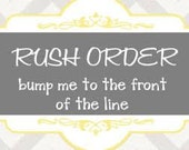 RUSH ORDER need in 1 week