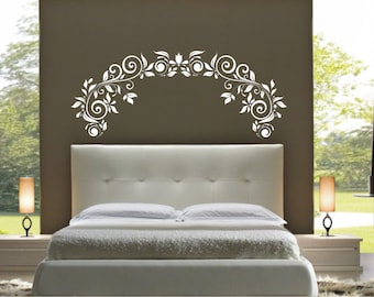 Vinyl Decal Wall Sticker Wall Tattoo Mural Art Large Headboard