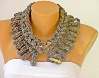 Neckwarmer kniting  scarf   ,scarf, woman scarf gift  crochet scarf  crochet scarf