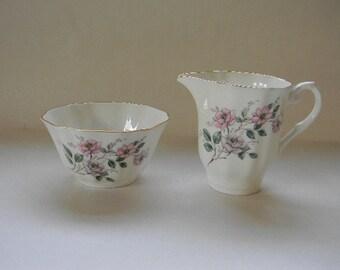 Royal Grafton English Bone China Cream and Sugar