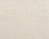 SALE - Laundered Belgian Linen - 7.5 oz Linen Fabric  / Medium Weight - Color- Dune - per yard