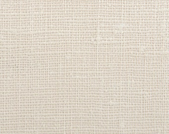 "Laundered Belgian Linen  - 7.5 oz Linen Fabric  - Medium Weight - Color- Dune - One Piece - 55"" x 55"""