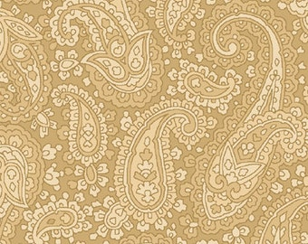 "Baroque 108"" Extra Wide Quiltback Fabric by Henry Glass - 1 Yard Cut"