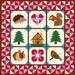 Around my House quilt pattern, paper pieced quilt pattern, PDF pattern, instant download, woodland quilt