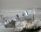 Cake Tester Glass Lampwork Beads, OOAK