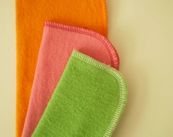 Reusable Cloth Wipes Sample Set