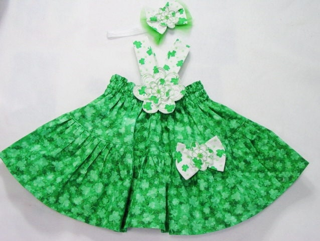 Baby Girl Dress St Patricks 18mo Boutique Toddler