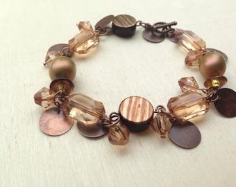 Gypsy Gems Copper Cha Cha Bracelet
