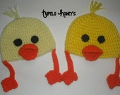 Crocheted Chick Hat
