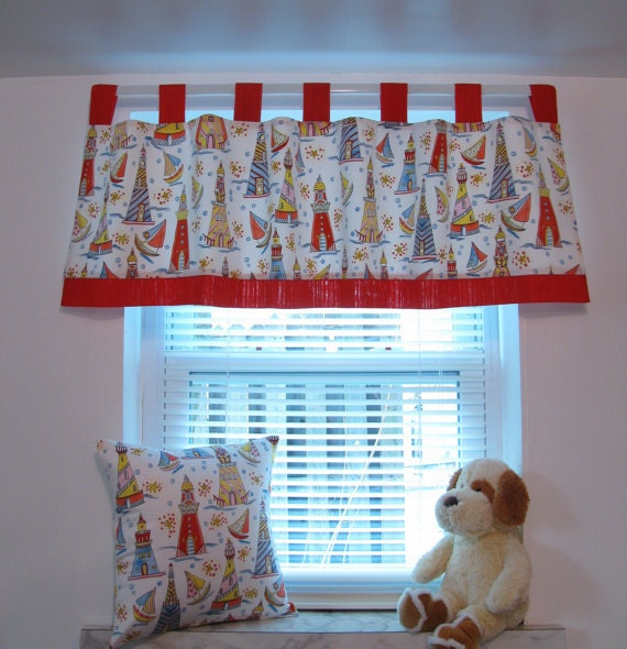 Items Similar To Kids Window Treatments Curtain Valance