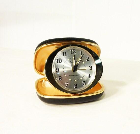 mint travel alarm clock wind up travel ben westclox