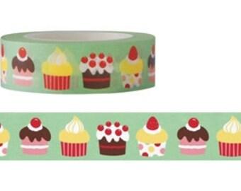 Cupcake Washi Masking Tape (15M)