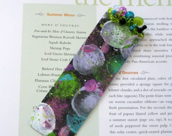 Outer Space Bookmark // Abstract Watercolor Original