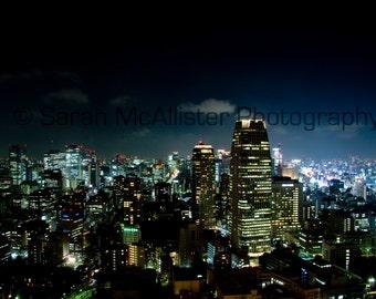 Tokyo at Night photography print