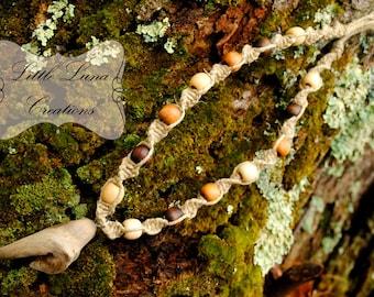 Driftwood Dream Hemp Necklace