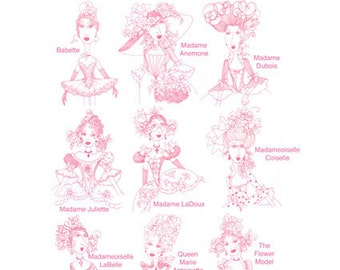 Juliette Ladies Embroidery Design Collection - CD