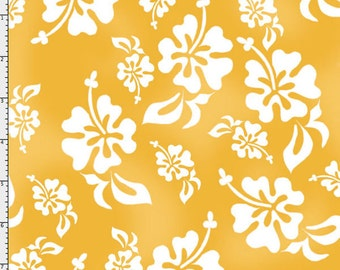 Hawaiian Sunshine Fabric Yard by Loralie