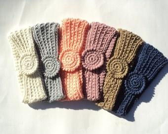 Crochet PATTERN - Easy Headbands, fingerless gloves, choker