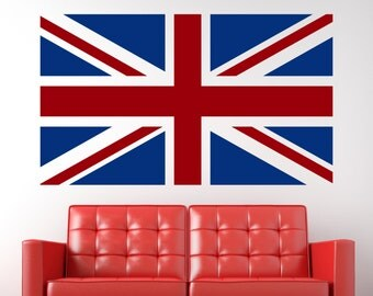 British Flag Wall Vinyl Decal