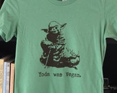 Yoda Was Vegan  T-shirt - Men/Unisex/Women - Star Wars