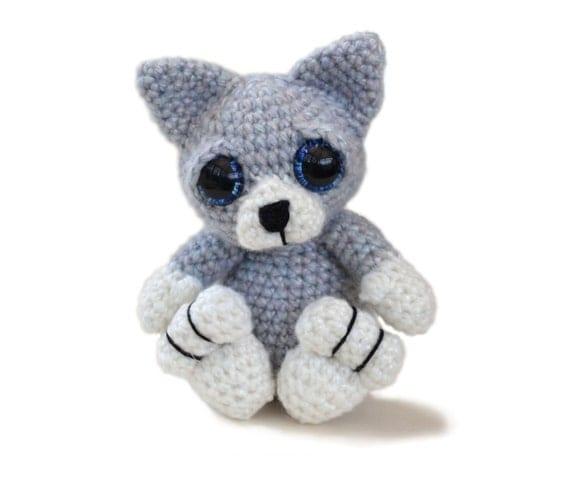 Kitten Cat Amigurumi Crochet Pattern PDF Instant Download - Bracken