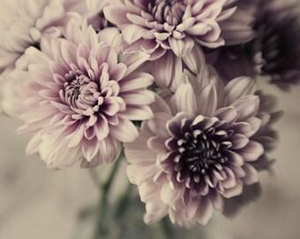 lavender floral art, cottage chic decor, pastel purple decor, romantic art, floral nursery art, spring decor, purple nursery decor,