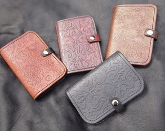 Custom Leather Notepad - Handmade Wallet, Book, for Gaming or Everyday Use