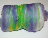 SPARKLE Art Batt for Spinners or Felters---1.9 oz---   No.61