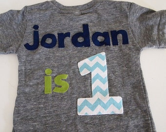 Personalized i am 1 first birthday shirt Organic Shirt Blend customize colors boys birthday shirt first birthday and up