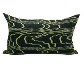 Kelly Wearstler Agate pillow cover in Ebony/Beige